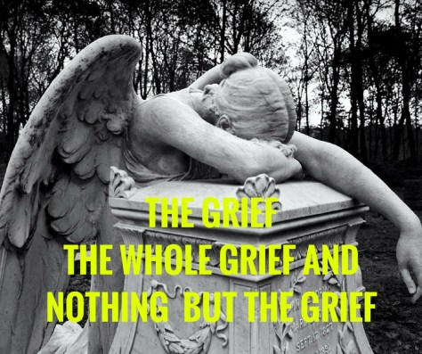 THE GRIEFTHE WHOLE GRIEF ANDNOTHING BUT THE GRIEF