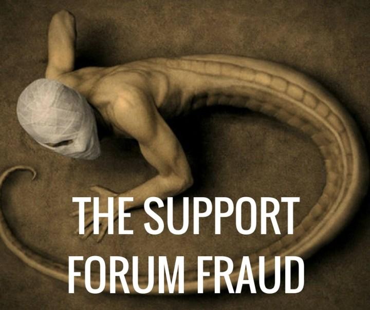 THE SUPPORTFORUM FRAUD