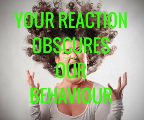 YOUR REACTIONOBSCURESOURBEHAVIOUR