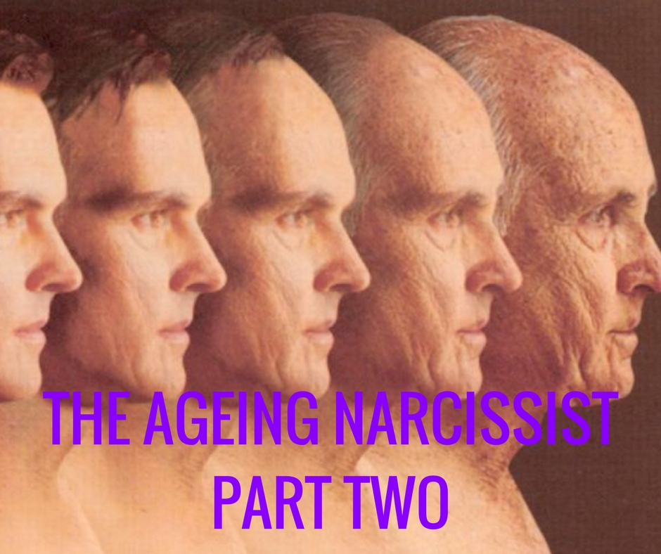 The Ageing Narcissist – Part Two – Knowing the Narcissist : HG Tudor