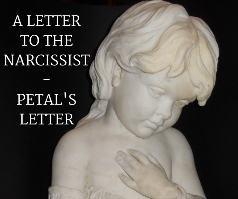 A LETTERTO THENARCISSIST-PETAL'SLETTER