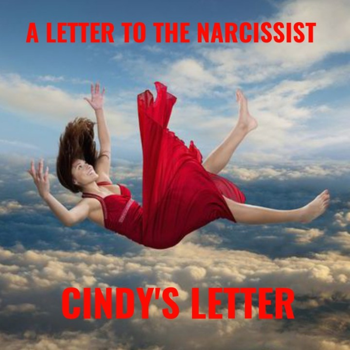 A LETTER TO THE NARCISSIST cindy