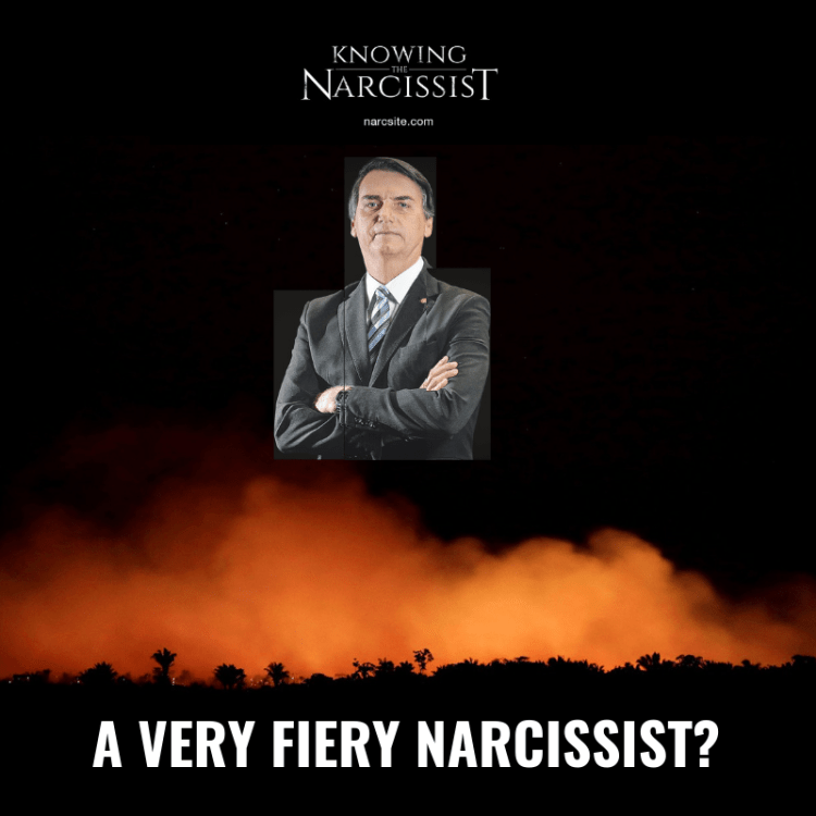 A VERY FIERY NARCISSIST?