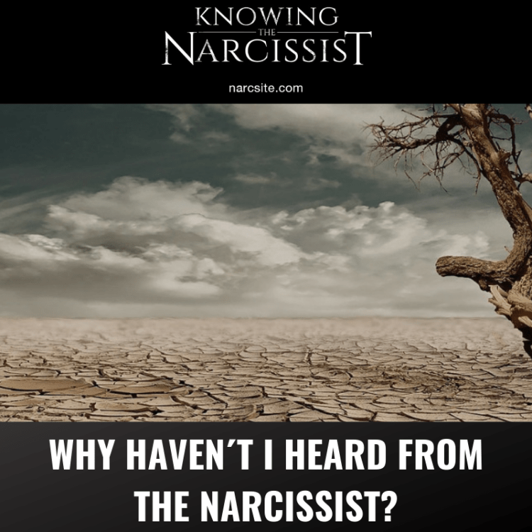 WHY HAVEN´T I HEARD FROM THE NARCISSIST?