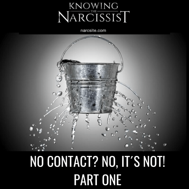 NO CONTACT? NO, IT´S NOT PART ONE