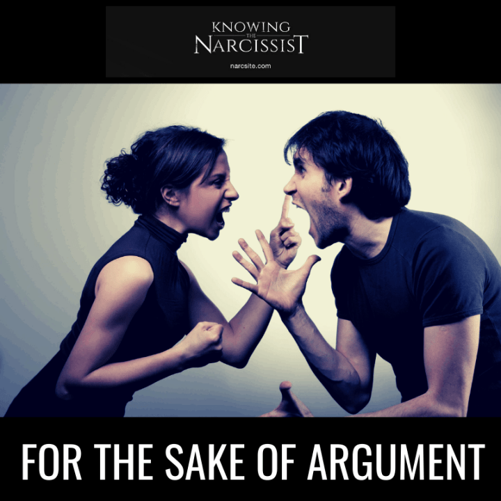 FOR THE SAKE OF ARGUMENT
