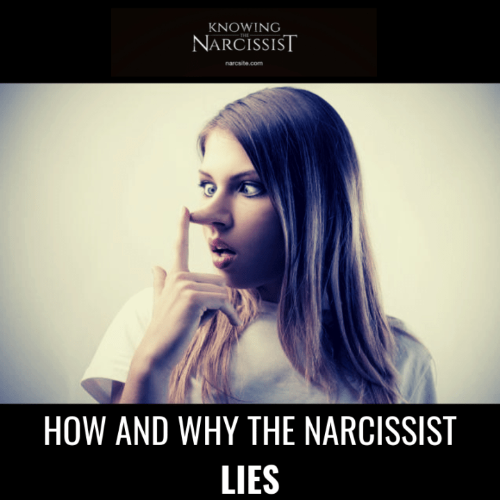 HOW AND WHY THE NARCISSIST LIES
