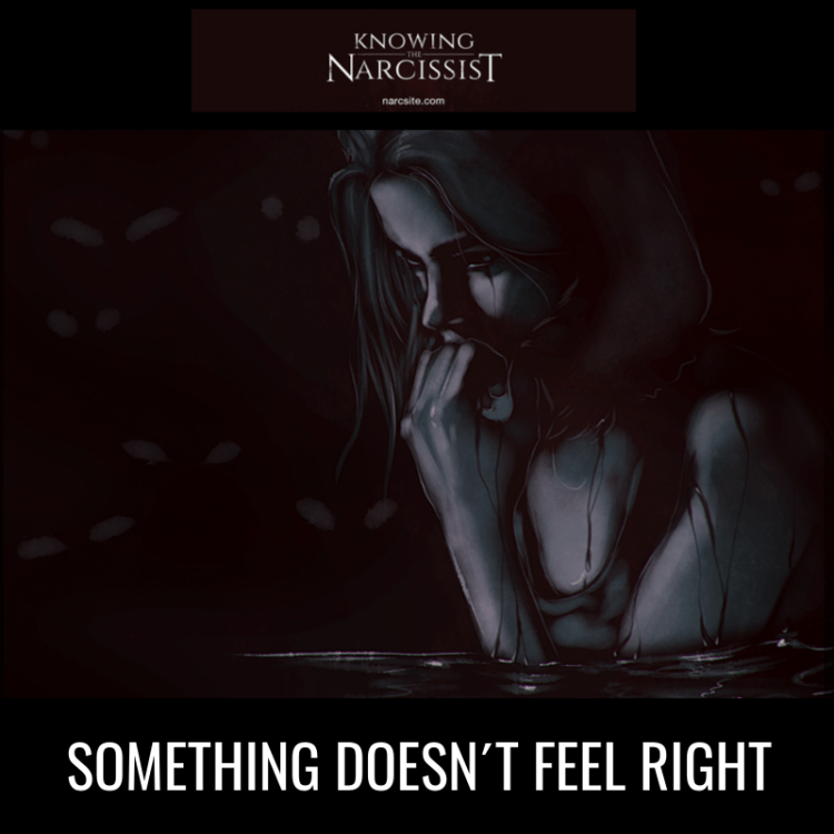 SOMETHING DOESN´T FEEL RIGHT
