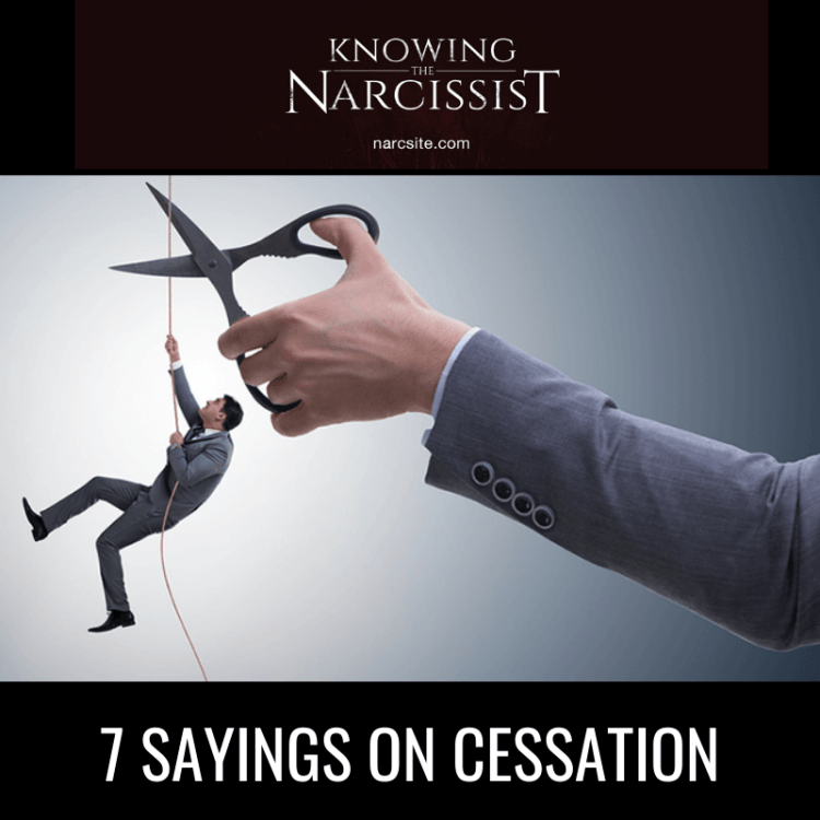 7 SAYINGS ON CESSATION