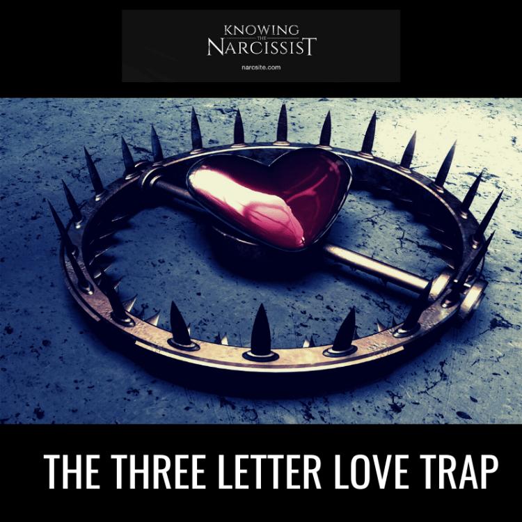 THE THREE LETTER LOVE TRAP