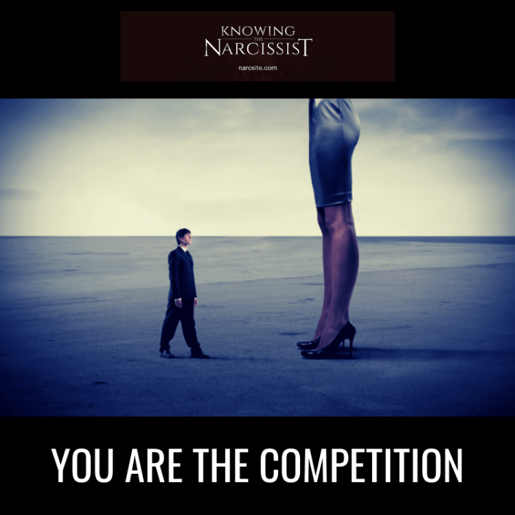 YOU ARE THE COMPETITION