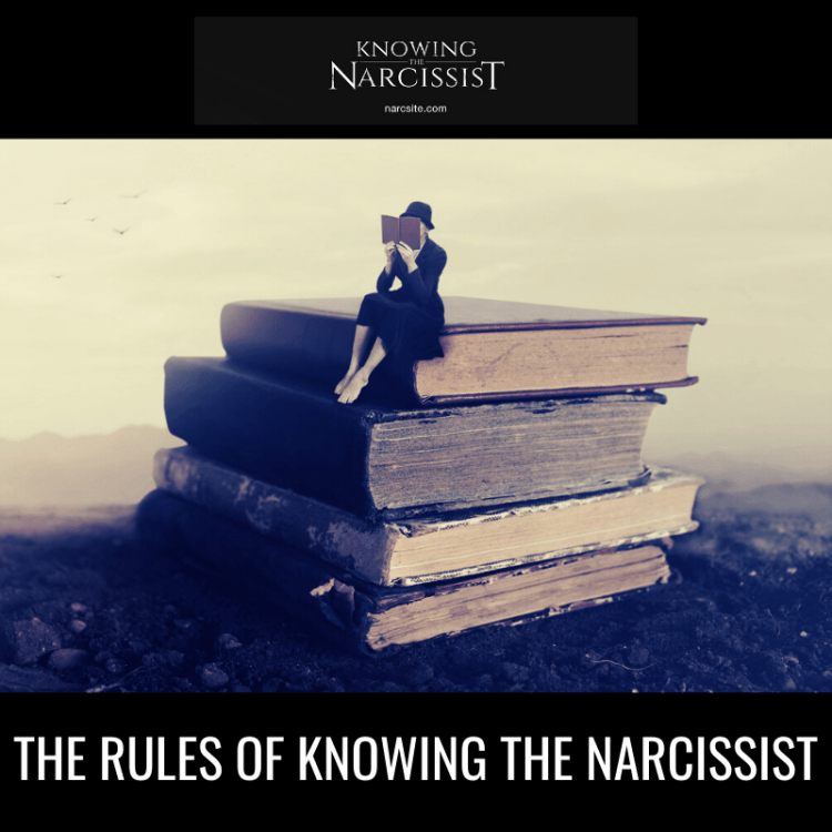 THE RULES OF KNOWING THE NARCISSIST