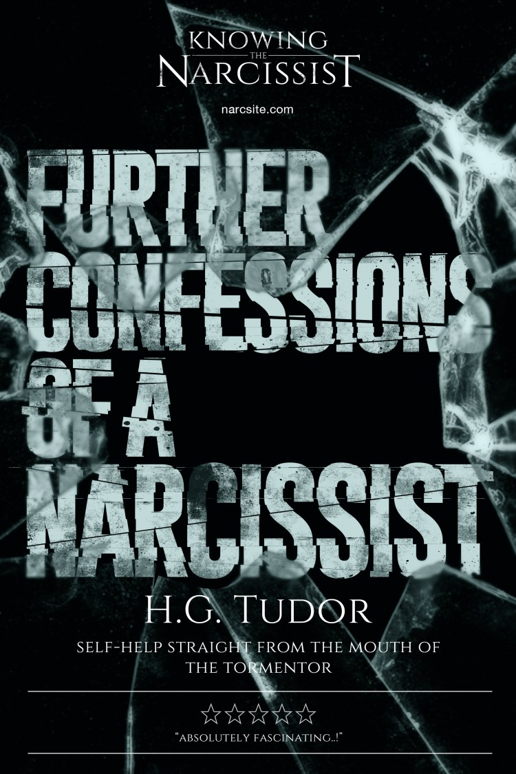 H.G Tudor - Further Confessions of a Narcissist e-book cover