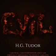 H.G Tudor - Evil e-book cover