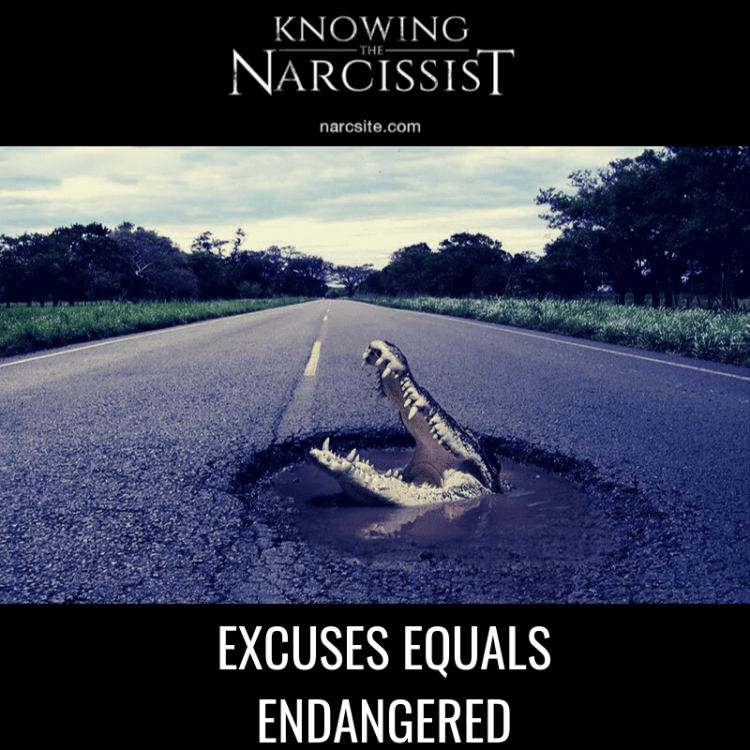 EXCUSES-EQUALS-ENDANGERED