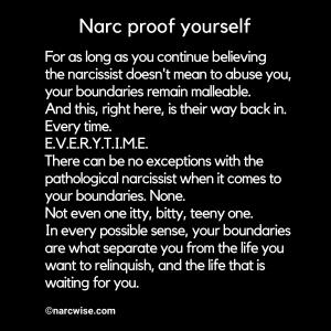 Narc proof yourself