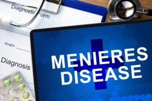 Meniers's disease often has it causes from the spine