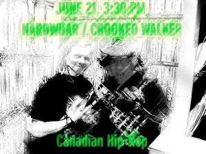 Crooked Walker Nardwuar
