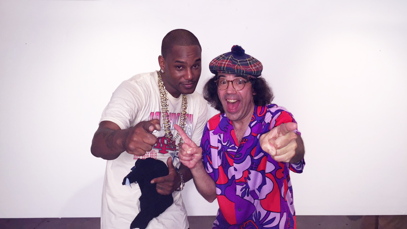 Cam'ron, Nardwuar. Fortune Sound Club, Vancouver BC Canada!
