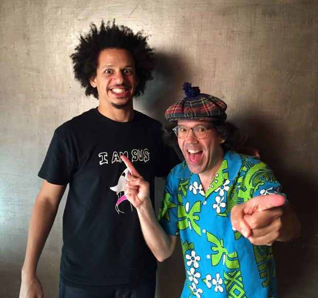 Eric Andre , Nardwuar ! Vancouver, BC Canada!