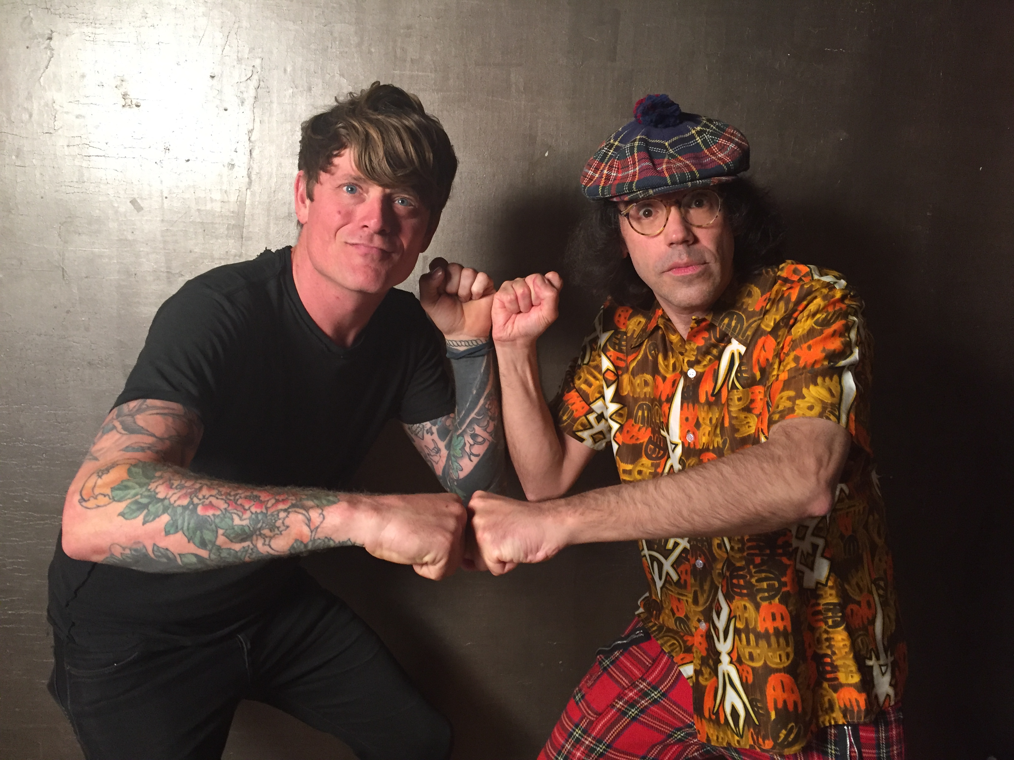 John Dwyer of Thee Oh Sees, Nardwuar ! Vancouver, BC Canada!