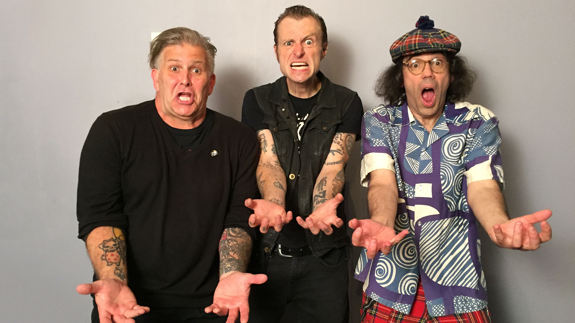 Leftover Crack, Nardwuar ! The Venue, Vancouver BC Canada!