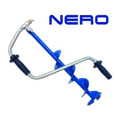 Ледобур NERO-MINI с телескопическим шнеком