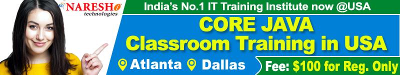 Core-Java-Training-in-USA-Naresh-i-Techcnologies