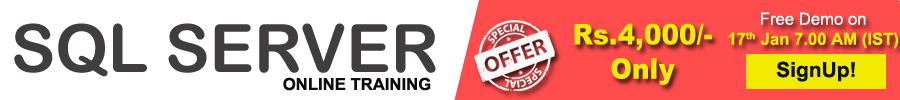 sql serevr online training