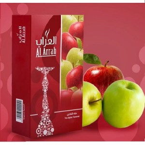 AL ARRAB DOUBLE APPLE معسل العراب تفاحتين