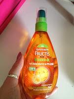 *Werbung* Garnier Fructis Schaden Löscher Wunder-Öl Hitzeschutz 24