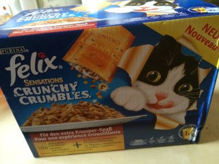 *Werbung* Produkttest Felix Sensations Crunchy Crumbles 2