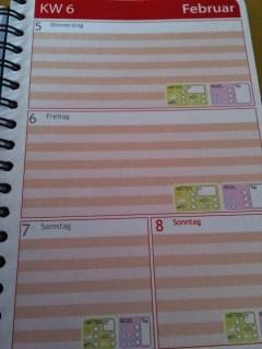 *Werbung* Shoptest Mein Taschenkalender 3
