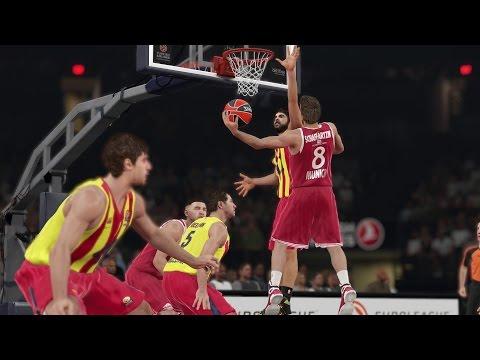 *News* NBA2K15 ist nun auf dem neusten Stand für die Final Four Euroleague 2