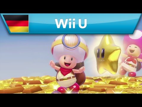 *News* Nintendo Captain Toad: Treasure Tracker Paket 1