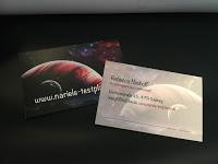 *Werbung*Produkttest Visitenkarten Digitaldruck Köln 1