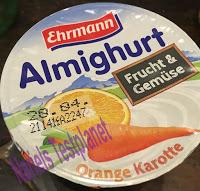 Produkttest Ehrmann Almighurt Frucht & Gemüse 4