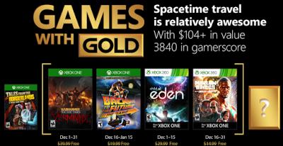 *News*  Die Games with Gold im Dezember 3