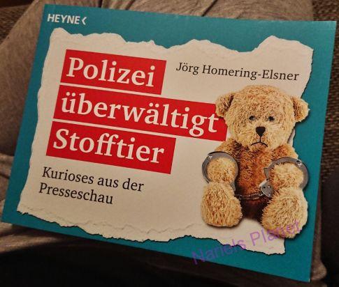 """*Rezension* """"Polizei überwaeltigt Stofftier"""" von Jörg Homering-Elsner 2"""
