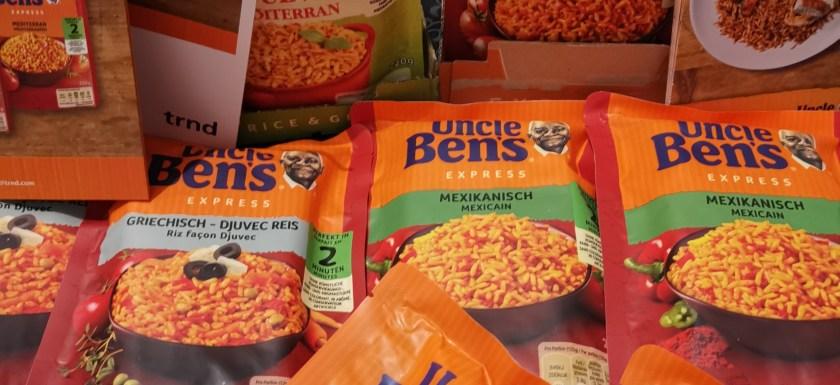 *Werbung* Uncle Ben's Express-Reis 1