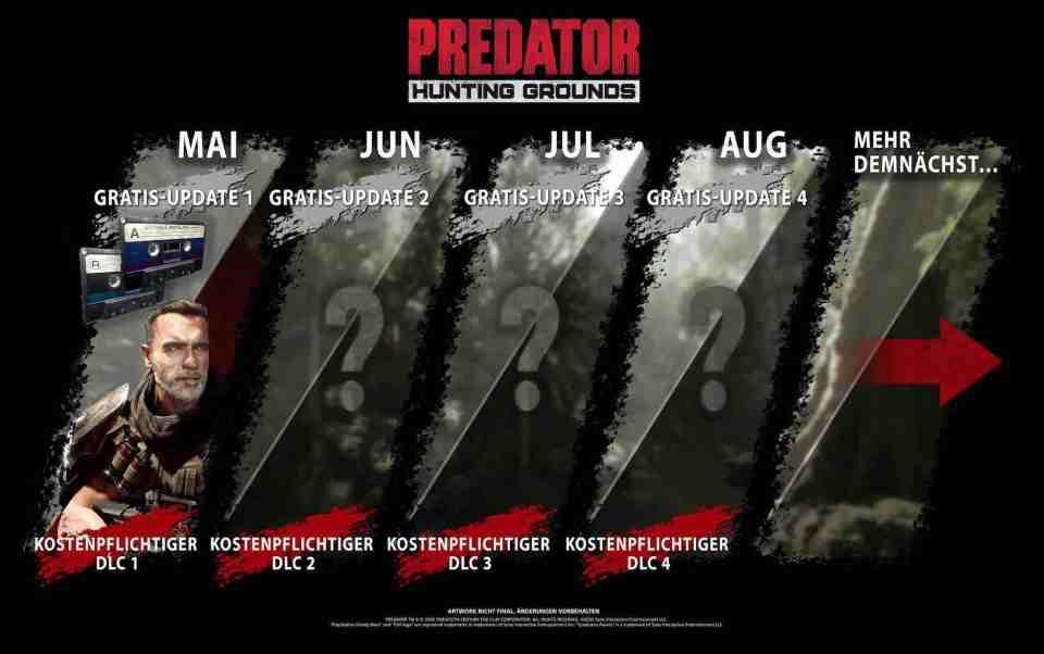 Predator Hunting Grounds erhält einen DLC mit Arni *News* 3