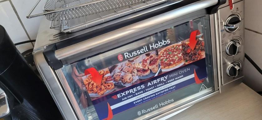 Express Airfry Mini Backofen von Russell Hobbs *Produkttest* 4