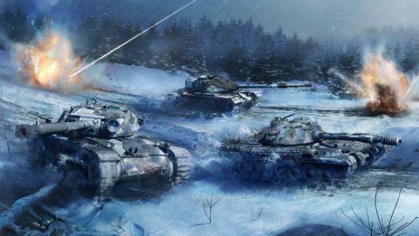 World of Tanks Console entfesselt die Winter Warriors 2