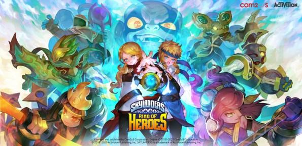 Com2uS veröffentlicht zwei neue Charaktere für Skylanders Ring of Heroes 2