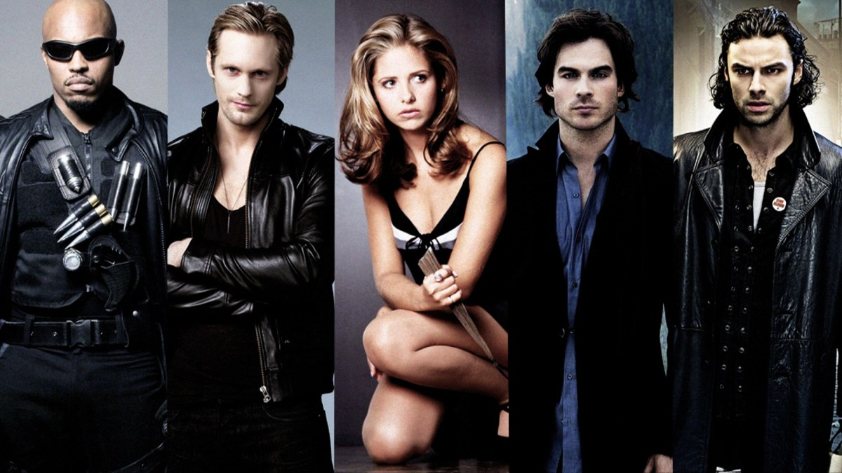 Top 20 Vampires in Television
