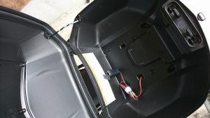 リアボックス内シガレット電源