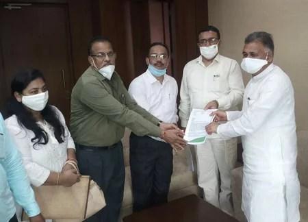 सोपास ने की मंत्रियों से भेंट, मुख्यमंत्री को भी ज्ञापन दिया