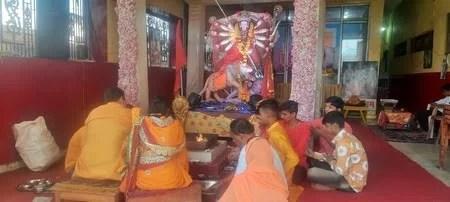 दुर्गा महानवमी पर आज हुए हवन, पूजन और भंडारे