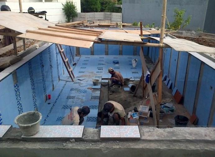 kolam renang ukuran 3x10