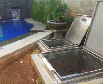 penempatan ruang mesin kolam renang